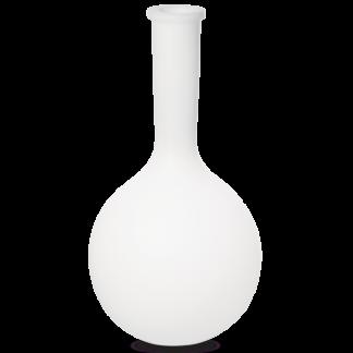 JAR Dekorativ lampe i kunststof H76 cm 1 x E27 - Hvid