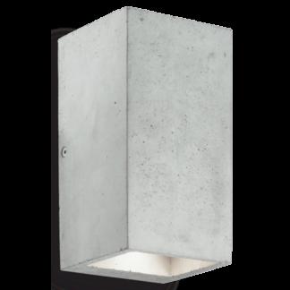 KOOL Væglampe i beton H19 cm 2 x GU10 - Grå