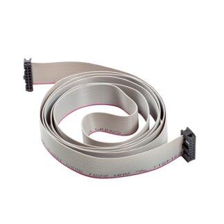Kabel fladt mellem styring og display - Karen Langå