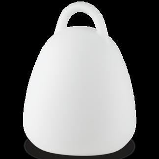 LIVE Bordlampe i kunststof H23,5 cm 1 x 2,5W LED - Hvid