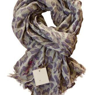 Leopard tørklæde fra Julie Fagerholt