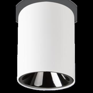 NITRO Påbygningsspot i metal Ø10,5 cm 1 x 15W LED - Mat hvid