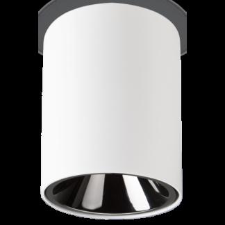NITRO Påbygningsspot i metal Ø7,5 cm 1 x 10W LED - Mat hvid