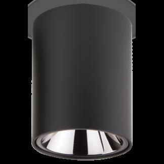 NITRO Påbygningsspot i metal Ø7,5 cm 1 x 10W LED - Mat sort