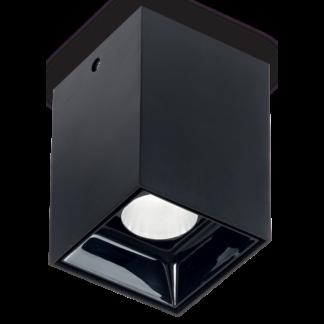 NITRO Påbygningsspot i metal 5,5 x 5,5 cm 1 x 10W LED - Mat sort