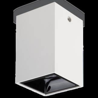 NITRO Påbygningsspot i metal 7 x 7 cm 1 x 15W LED - Mat hvid