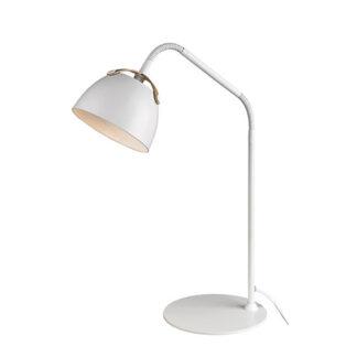 Oslo hvid bordlampe