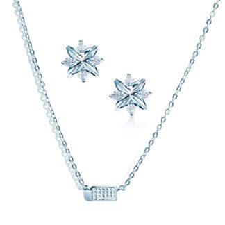 Oxford petite gavesæt sølv