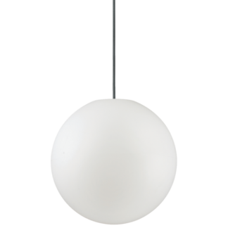 SOLE Loftlampe i kunststof Ø30 cm 1 x E27 - Hvid