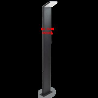 STYLE Bedlampe i aluminium og kunststof H100 cm 1 x 9W LED - Hvid