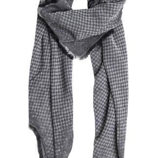 Sort tørklæde i skøn kvalitet