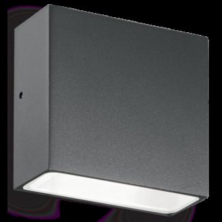 TETRIS Væglampe i aluminium H9 cm 1 x G9 - Antracit