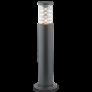 TRONCO Bedlampe i aluminium og Pyrexglas H60,5 cm 1 x E27 - Antracit