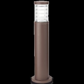 TRONCO Bedlampe i aluminium og Pyrexglas H60,5 cm 1 x E27 - Brun