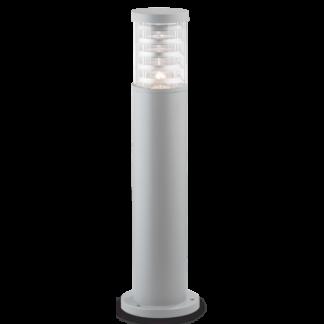 TRONCO Bedlampe i aluminium og Pyrexglas H60,5 cm 1 x E27 - Grå