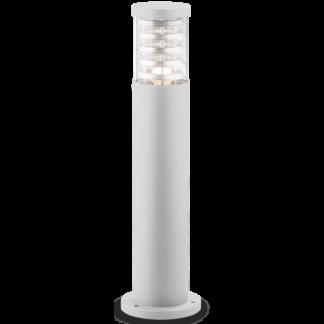 TRONCO Bedlampe i aluminium og Pyrexglas H60,5 cm 1 x E27 - Hvid