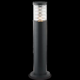 TRONCO Bedlampe i aluminium og Pyrexglas H60,5 cm 1 x E27 - Sort