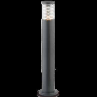 TRONCO Bedlampe i aluminium og Pyrexglas H80,5 cm 1 x E27 - Antracit