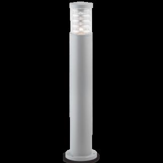TRONCO Bedlampe i aluminium og Pyrexglas H80,5 cm 1 x E27 - Grå