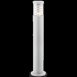 TRONCO Bedlampe i aluminium og Pyrexglas H80,5 cm 1 x E27 - Hvid