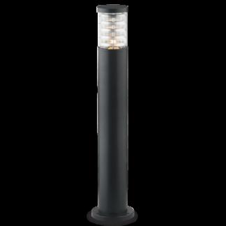 TRONCO Bedlampe i aluminium og Pyrexglas H80,5 cm 1 x E27 - Sort