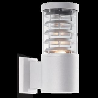 TRONCO Væglampe i aluminium H25 cm 1 x E27 - Hvid