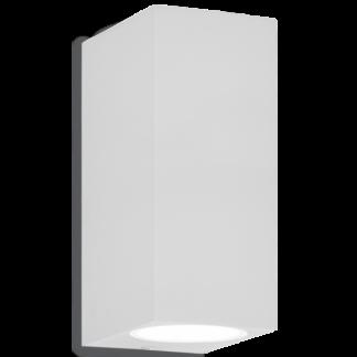 UP Dobbelt Væglampe i aluminium H15 cm 2 x G9 - Hvid