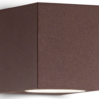 UP Væglampe i aluminium H8 cm 1 x G9 - Brun