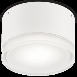 URANO Påbygningsspot i aluminium Ø12 cm 1 x GX53 - Hvid