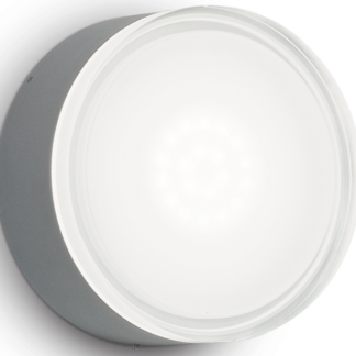 URANO Påbygningsspot i aluminium Ø16 cm 1 x GX53 - Antracit