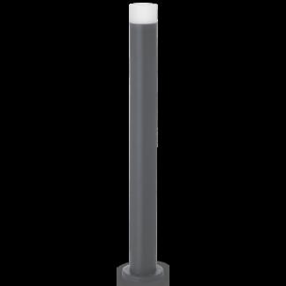 VENUS Bedlampe i stål og akryl H80 cm 1 x GU10 - Antracit