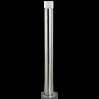 VENUS Bedlampe i stål og akryl H80 cm 1 x GU10 - Børstet stål