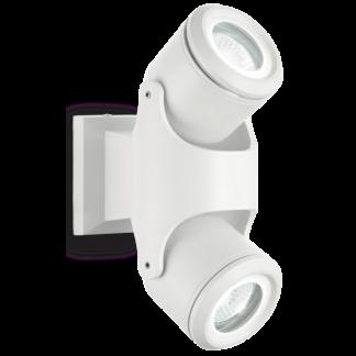 XENO Væglampe i aluminium H24 cm 2 x GU10 - Hvid