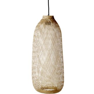 Bloomingville bambus loftlampe (h65)