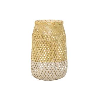 Bloomingville lanterne m/glas