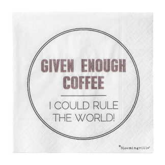 Bloomingville servietter (coffee)