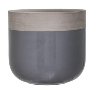 Bloomingville urtepotte (grå)