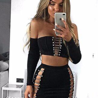 Fredag top & nederdel