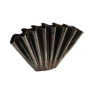 House doctor vase flood (antik metallisk/53,4x11x30 cm)