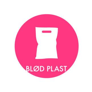 Piktogram til affaldssortering, Blød Plast
