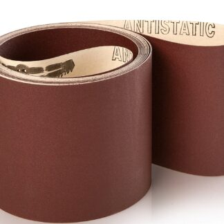 10 stk. Lange slibebånd på papir 150x4800mm Korn P80