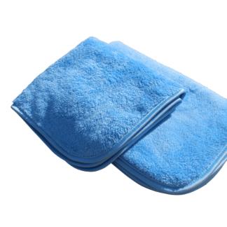 AUTO Polering / klargøringsklud i microfiber, blå | 40x40 cm - AUTO-40-B