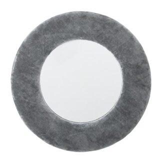 Bloomingville-Spejl, Gul, Bomuld grå