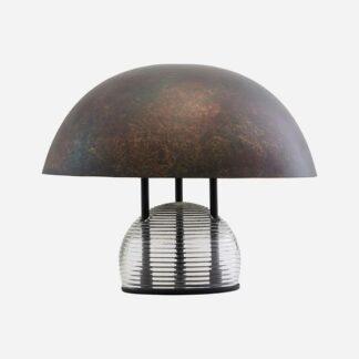 Bordlampe Umbra Antik brun mørkegråt