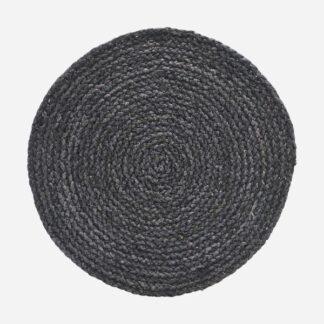 Dækkeserviet Circle Grå/Blå mørkegråt