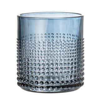 Gro Drikkeglas, Glas blå