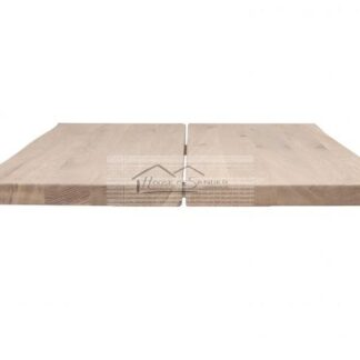 Hugin table, 4x95x240cm white oil