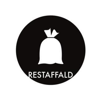 Piktogram til affaldssortering, Restaffald