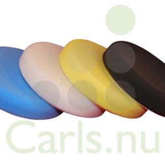 Polerrondeller 150mm - Skum Farver Gul