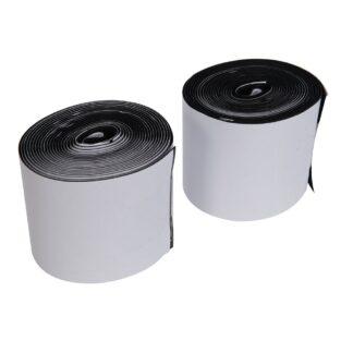 Selvklæbende Velcrobånd 10 x 100 cm (Hooks & loops) Farver Hvid